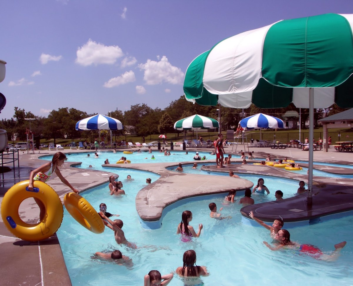 Splash zone water park, OK