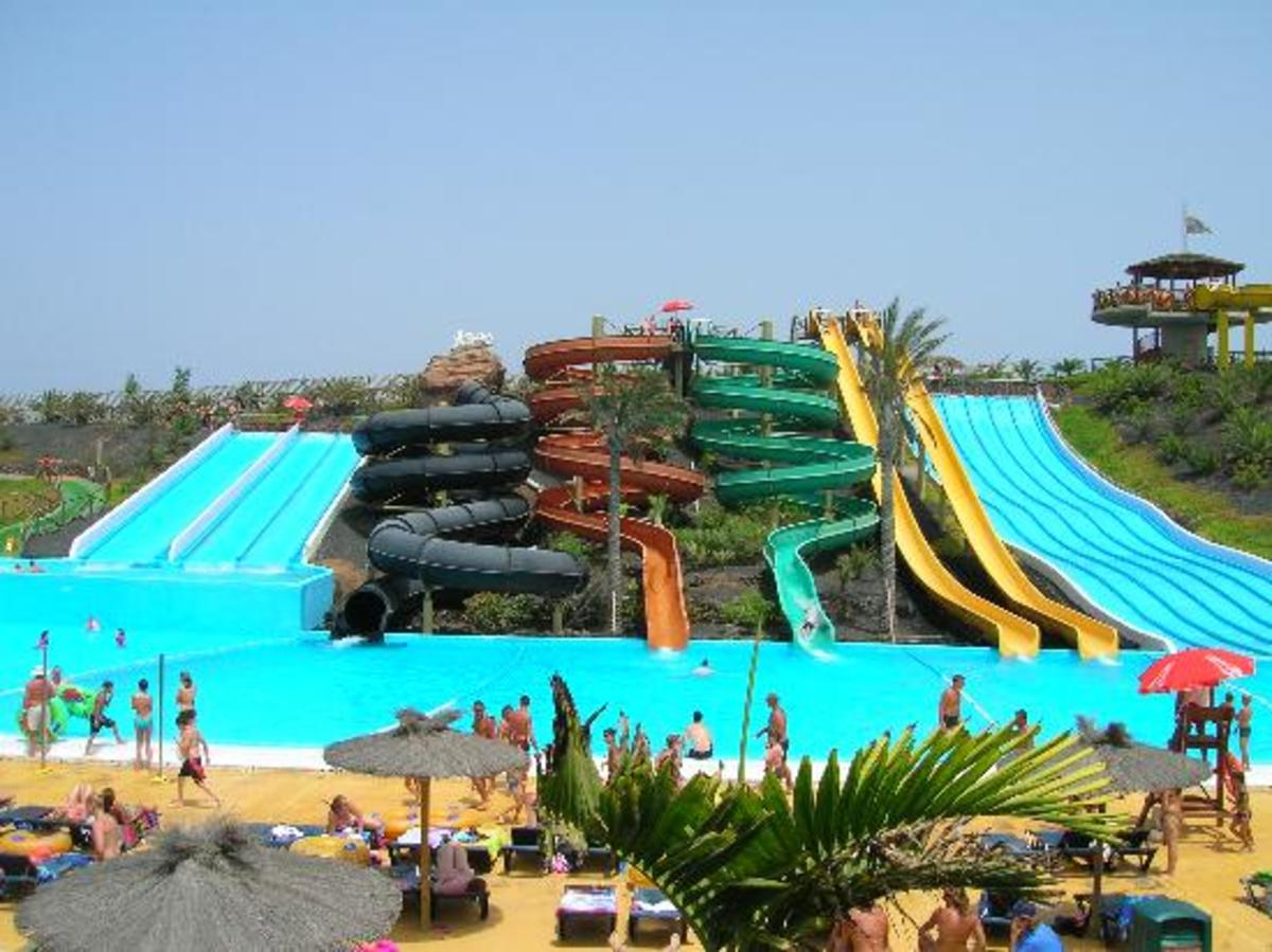 White water bay outdoor water park, Oklahoma