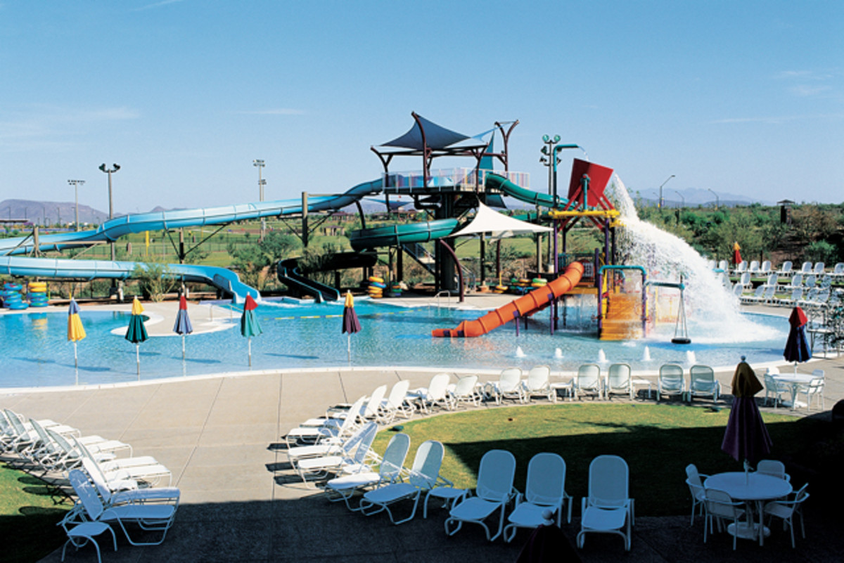 Outdoor water park in Oklahoma