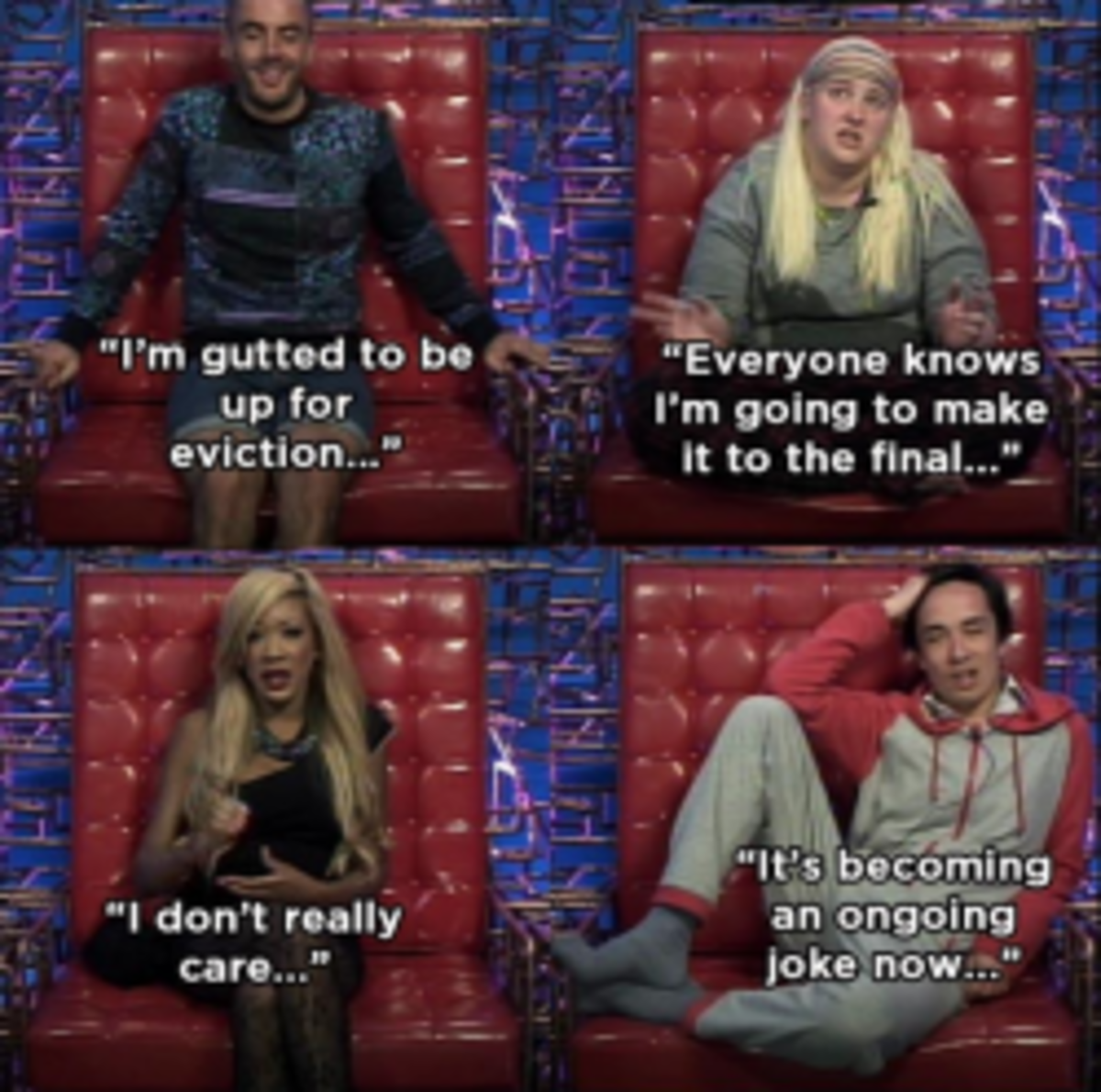 4 housemates up for eviction