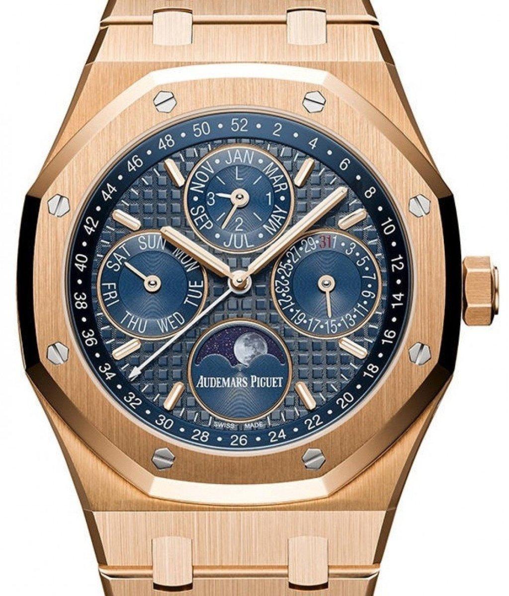 Audemars Piguet Royal Oak Perpetual Calendar watch.