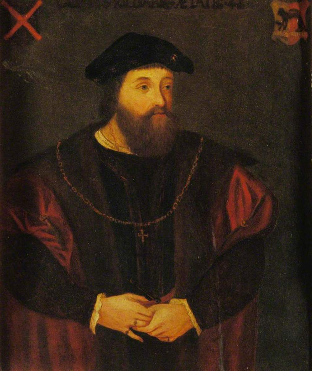 Gerald FitzGerald, 9th Earl of Kildare, January 1530