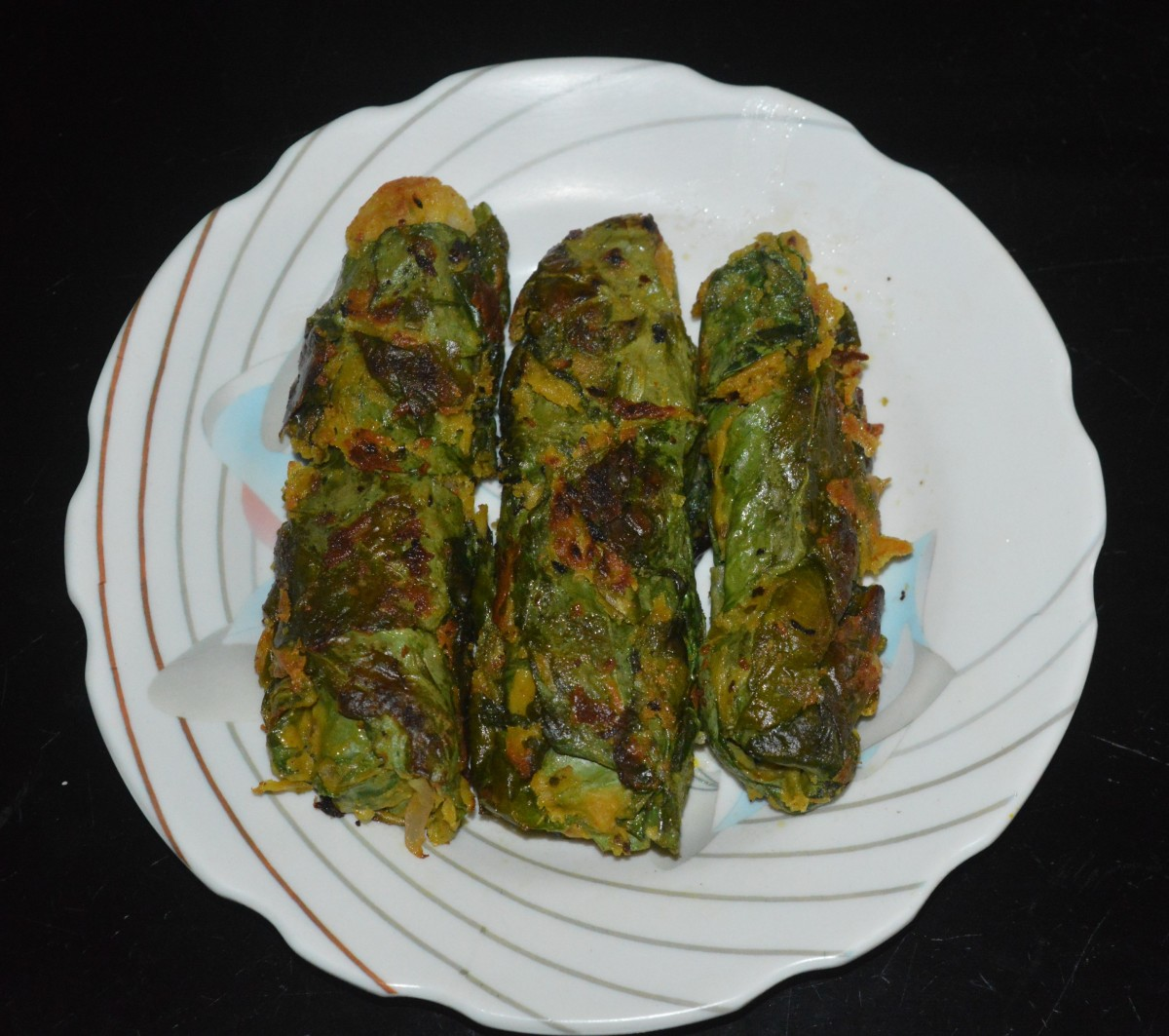 Palak Rolls (Spinach Rolls)