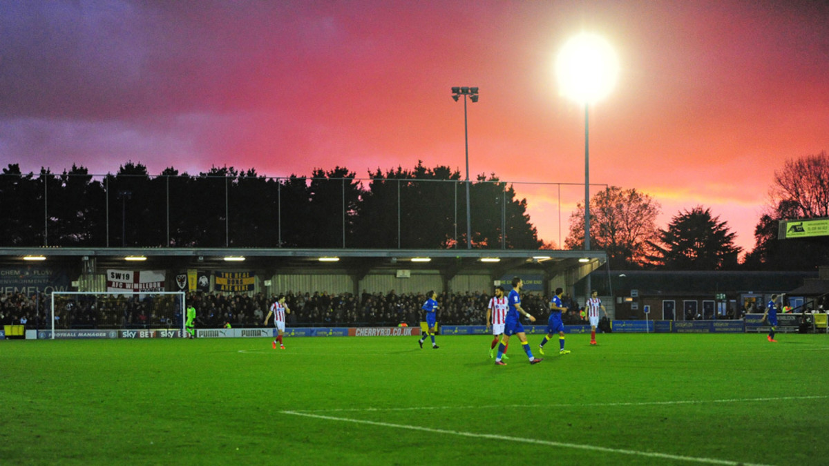 AFC Wimbledon during their rise back to the Football League.