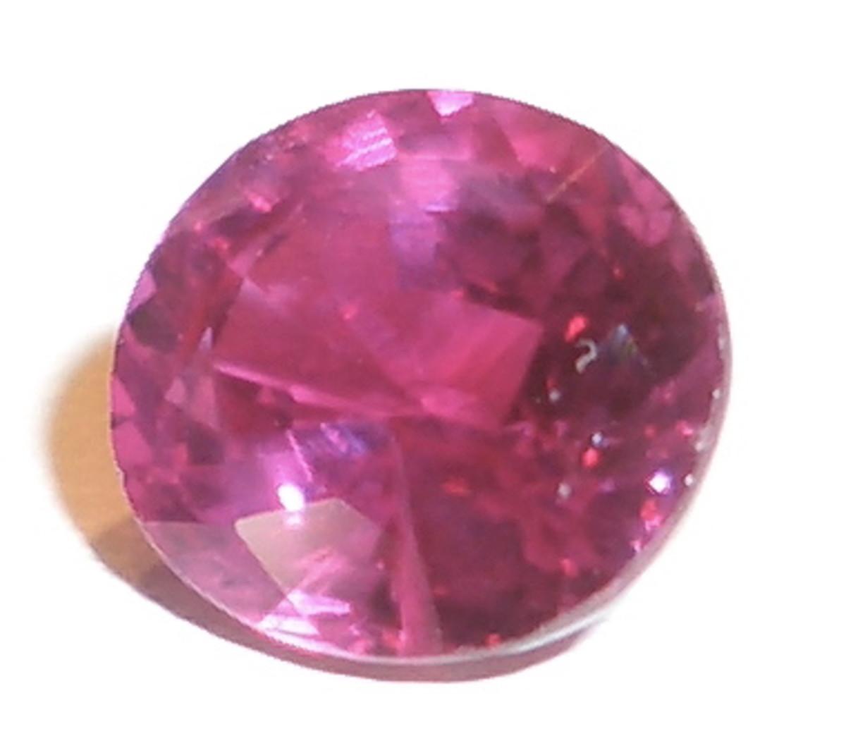 A Cut Pink Ruby