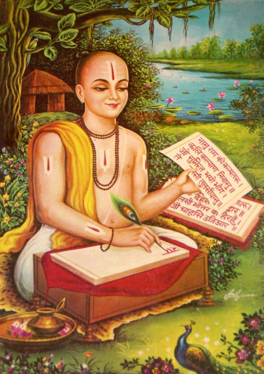 Tulsidas, the great Indian poet and his epic - Ramcharitmanas