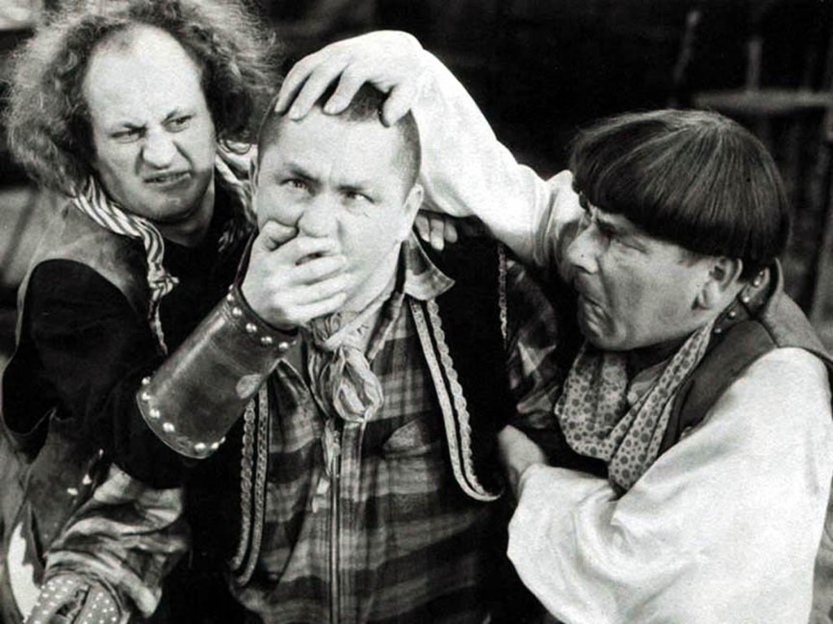 """WHY YOOOU...! """"Oh, Oh, Oh, OOOO!"""" (*) From above mentioning of the Three Stooges."""