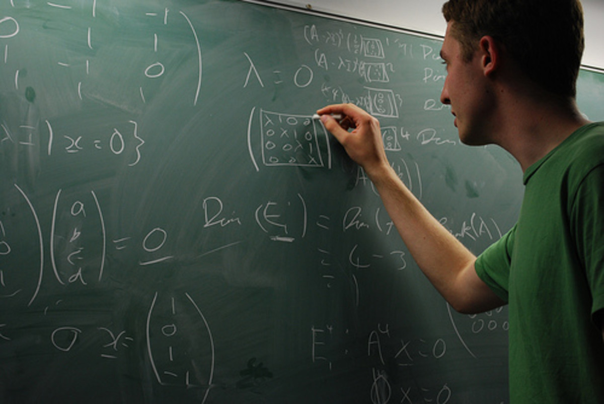 "Today's Lesson: ""How to Survive Algebra II When You Suck At Math!""  Licensing / Attribution: Above Image From: Flickr"