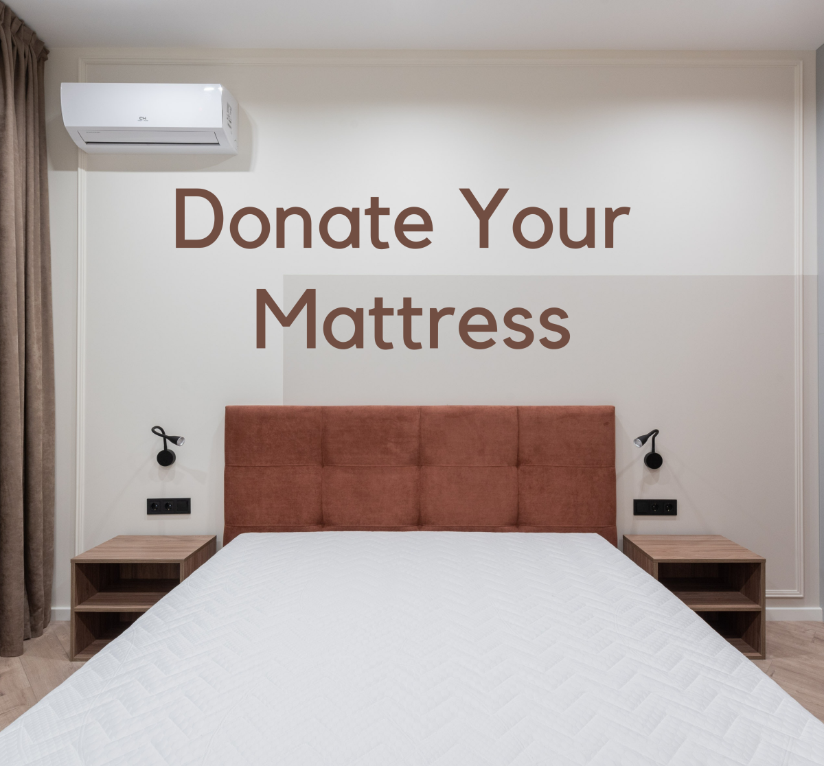 If your mattress is in reasonable condition, you can probably donate it!