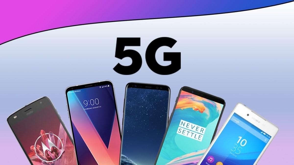 5G (Fifth Generation) Smart Phones