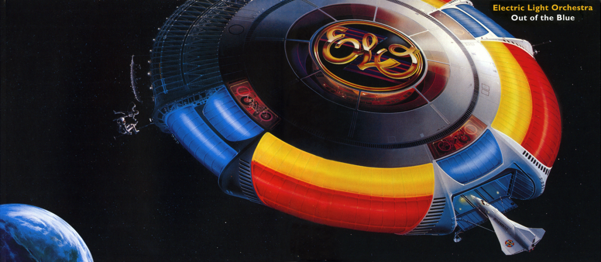 The gatefold jacket featured an even more impressive visual.