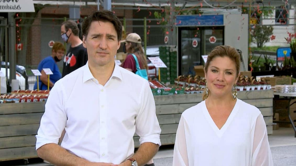 Prime Minister Justin Trudeau and his wife, Sophie Grégoire Trudeau