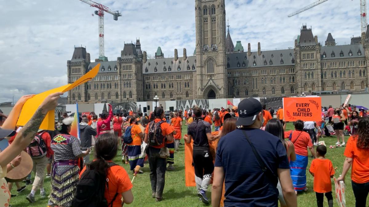 Canada Day 2021 on Parliament Hill, Ottawa