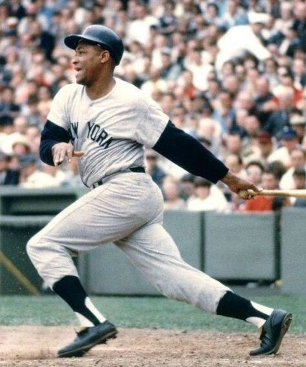 Calm through the storm: Elston Howard made history as the first black Yankee.in 1955, spending 13 seasons in New York. He was not a fan of Keane, though he supported him publicly.