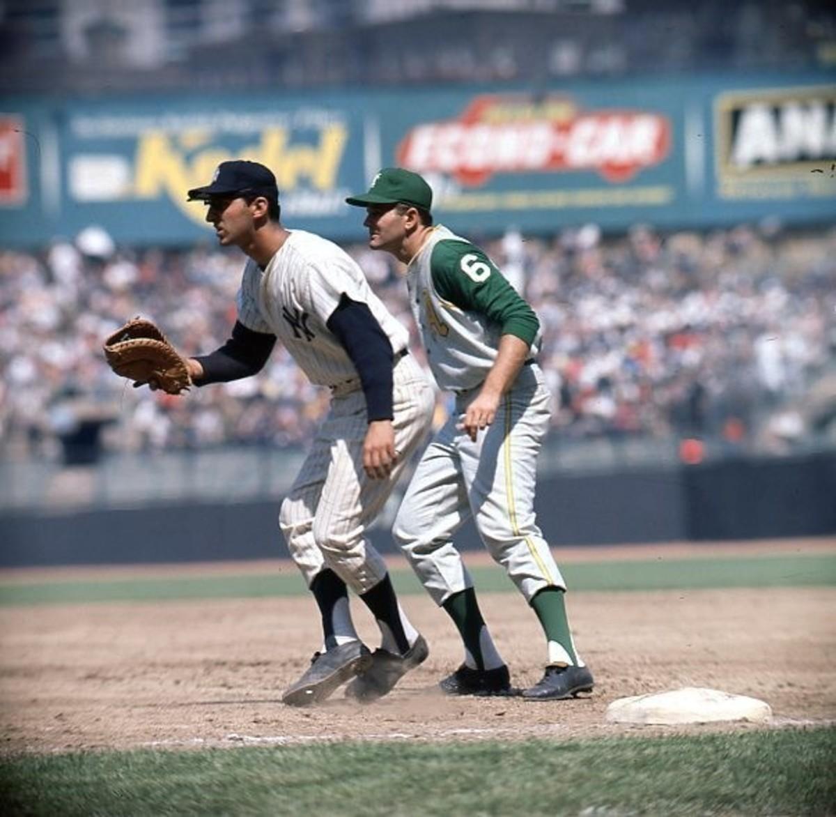 Despite the turmoil, Joe Pepitone had a great season with his bat and glove.
