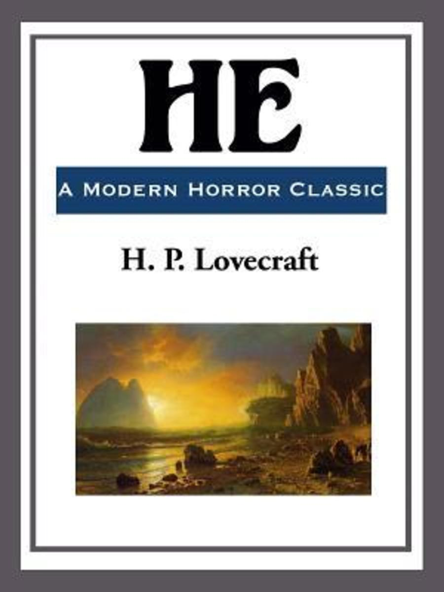 Cover of He by H.P Lovecraft