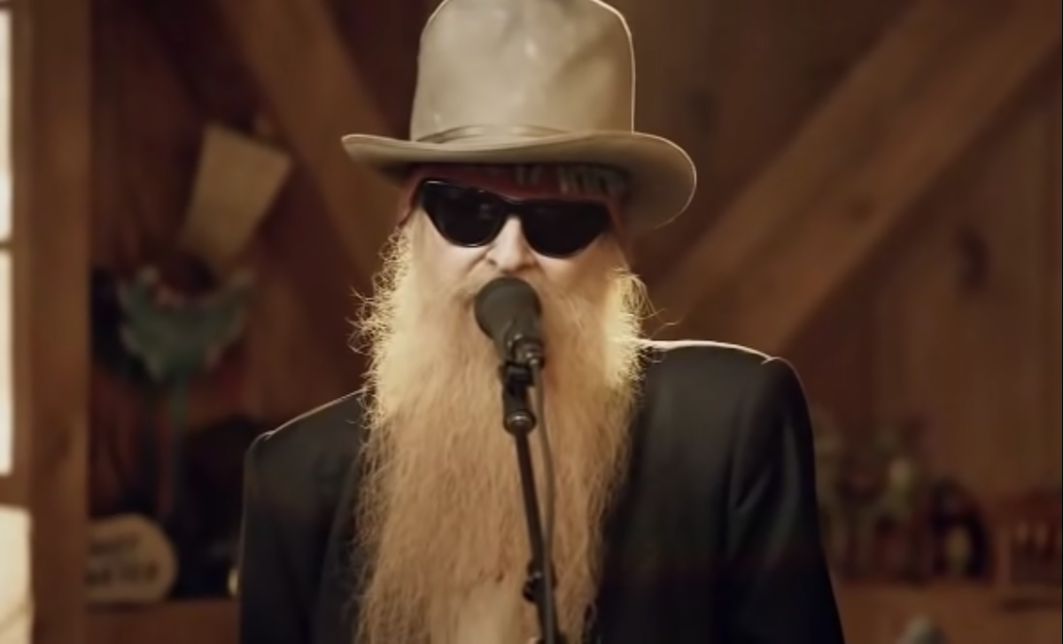 The American rock star, best known as the guitarist and lead vocalist of ZZ Top, would be unrecognisable without facial hair.