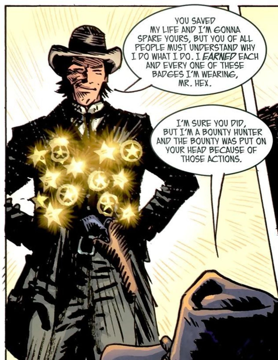 Old West Starman: A man with many badges