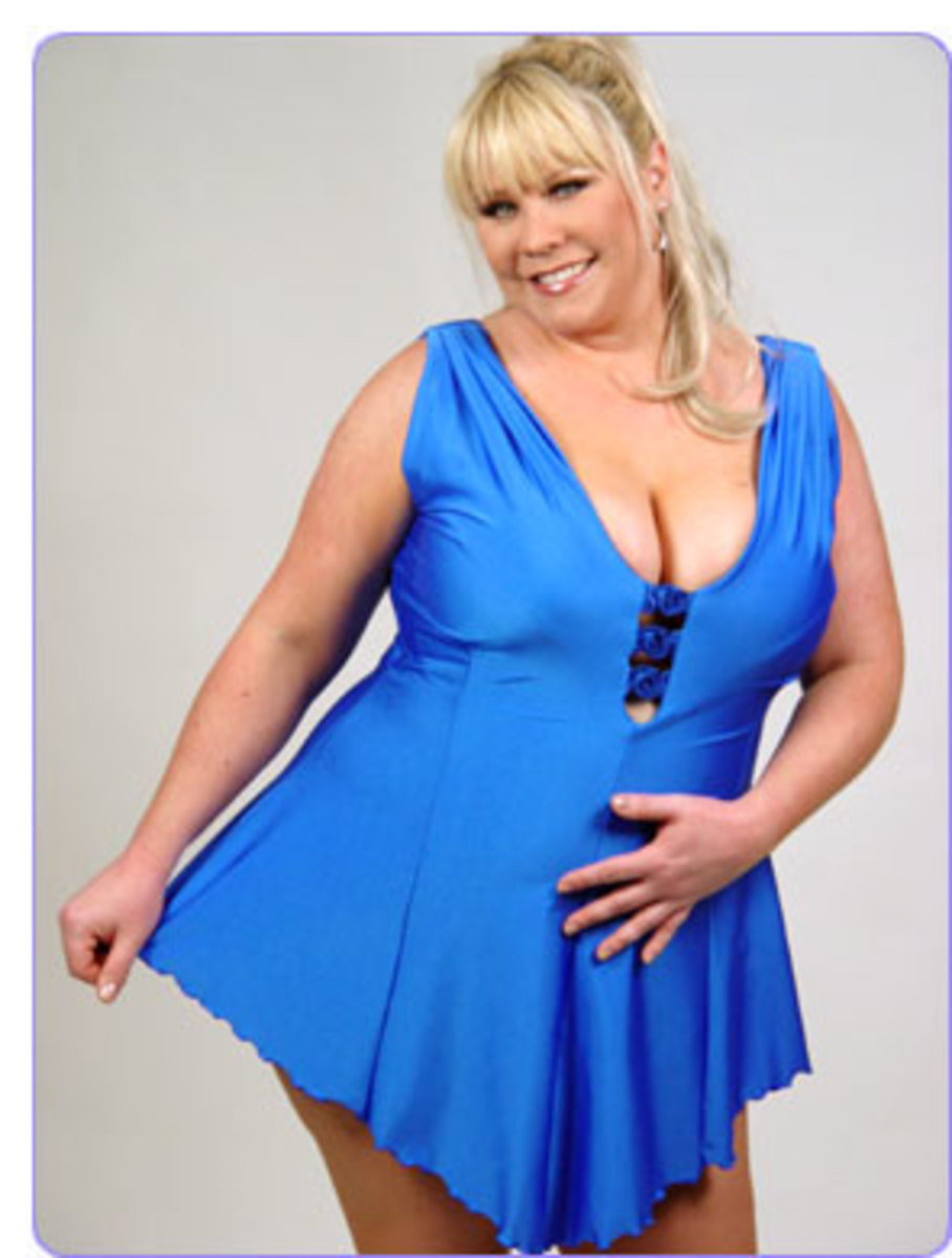 Royal Roses Swimsuit. This versatile piece is designed so it can be worn as a top with trousers. Available in your size.