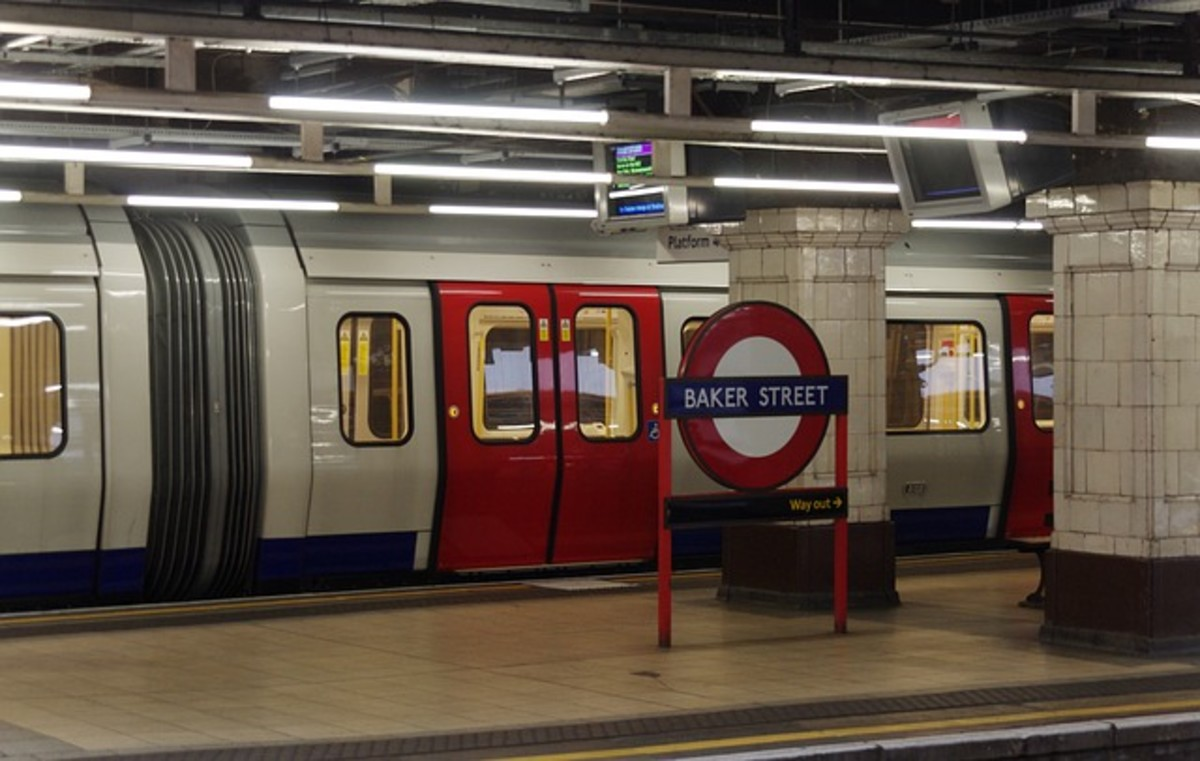 London tube - Baker Street Station