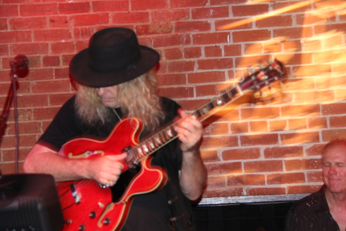 Mark Fitchett at the Lighthouse in Hermosa Beach