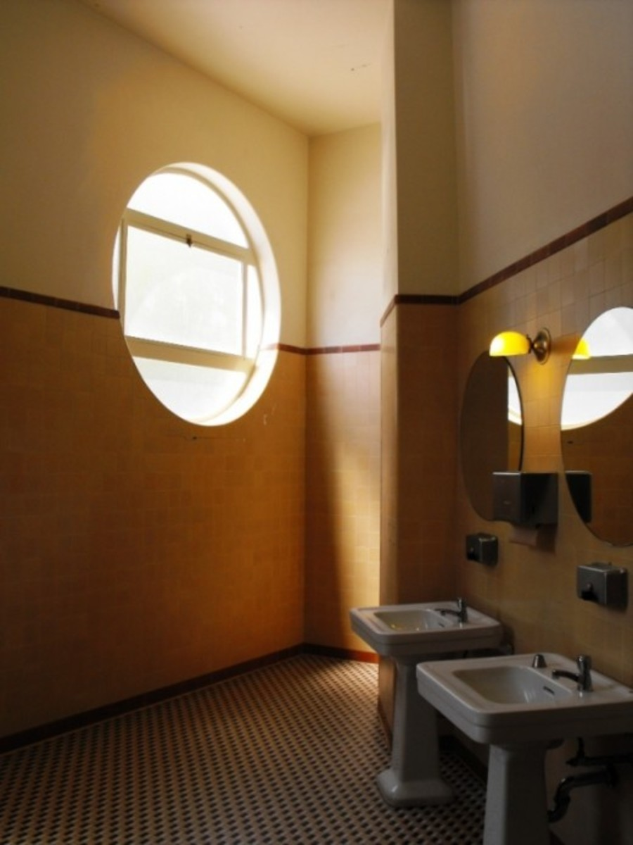 Restored art deco Ladies Room