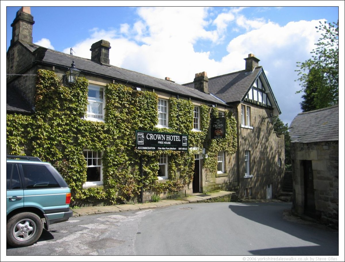 The Crown at Lofthouse in Nidderdale