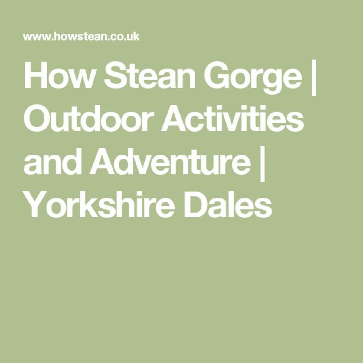 A full family activities guide to help you find your way around and enjoy the facilities offered in Nidderdale for the outdoor life