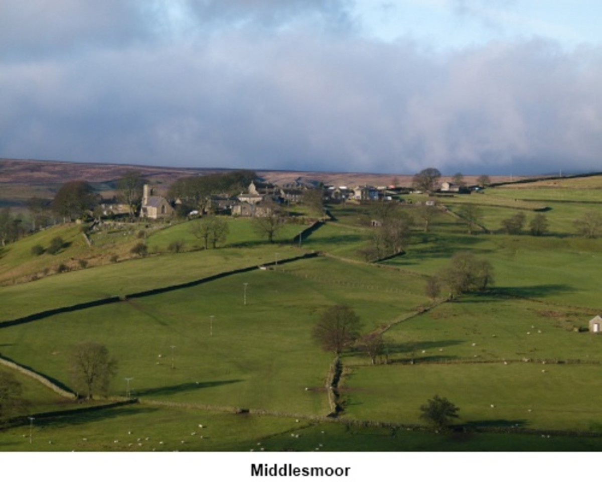 Middlesmoor with Upper Nidderdale - miles of walks for enthusiasts in the Pennine foothills