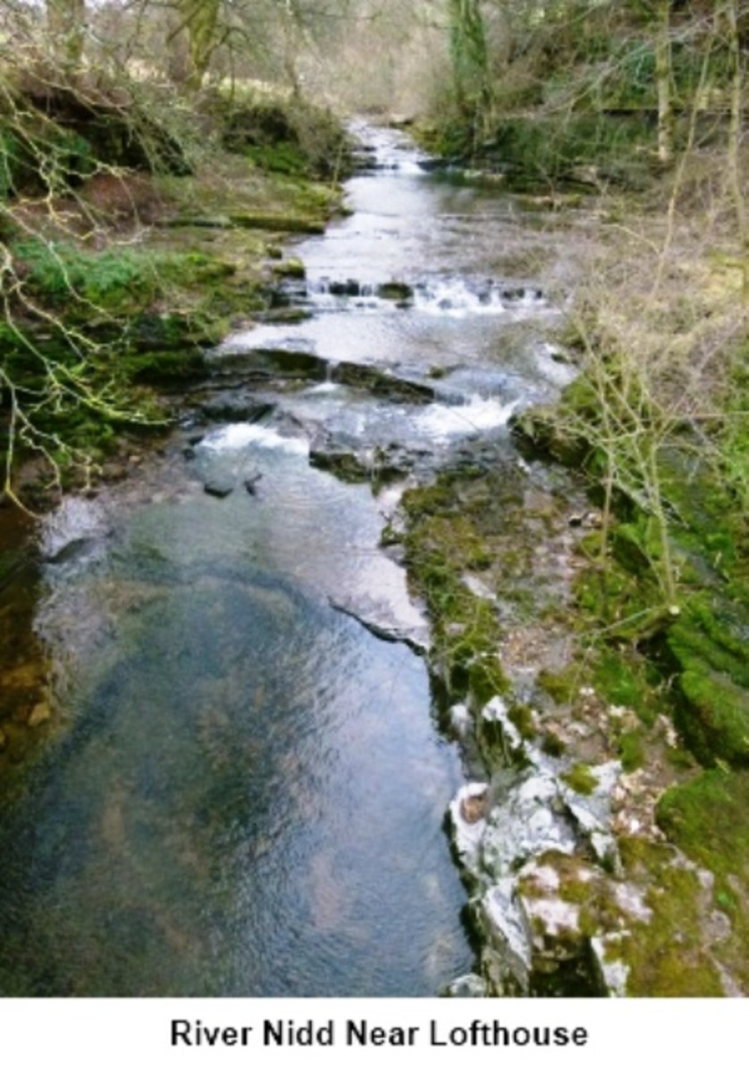 A faster-flowing River Nidd at Lofthouse-in-Nidderdale