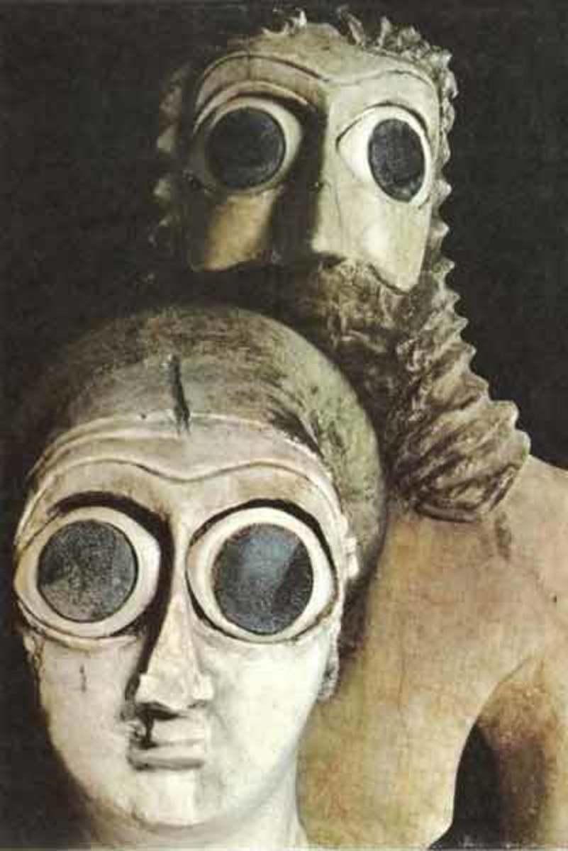 Sumerian couple