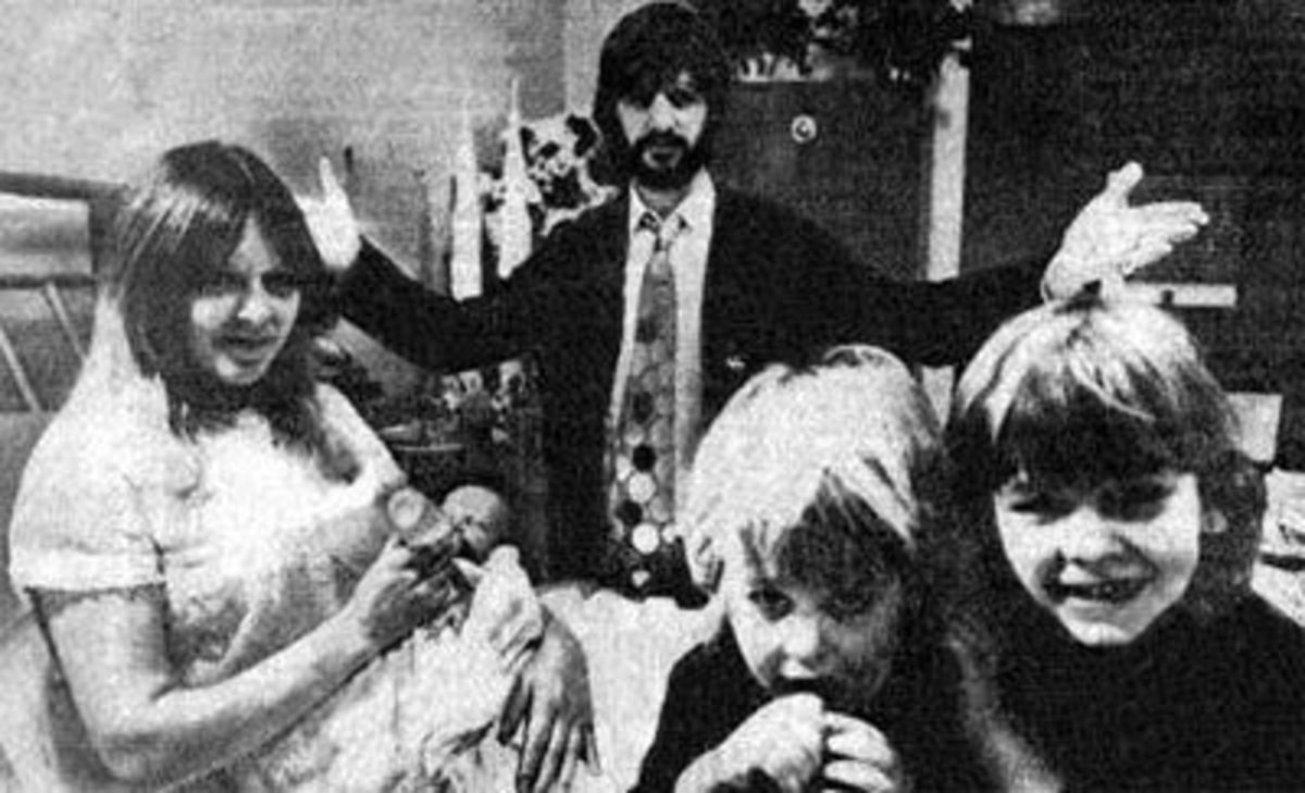 Ringo, his first wife Maureen and kids Zak, Jason, and Lee