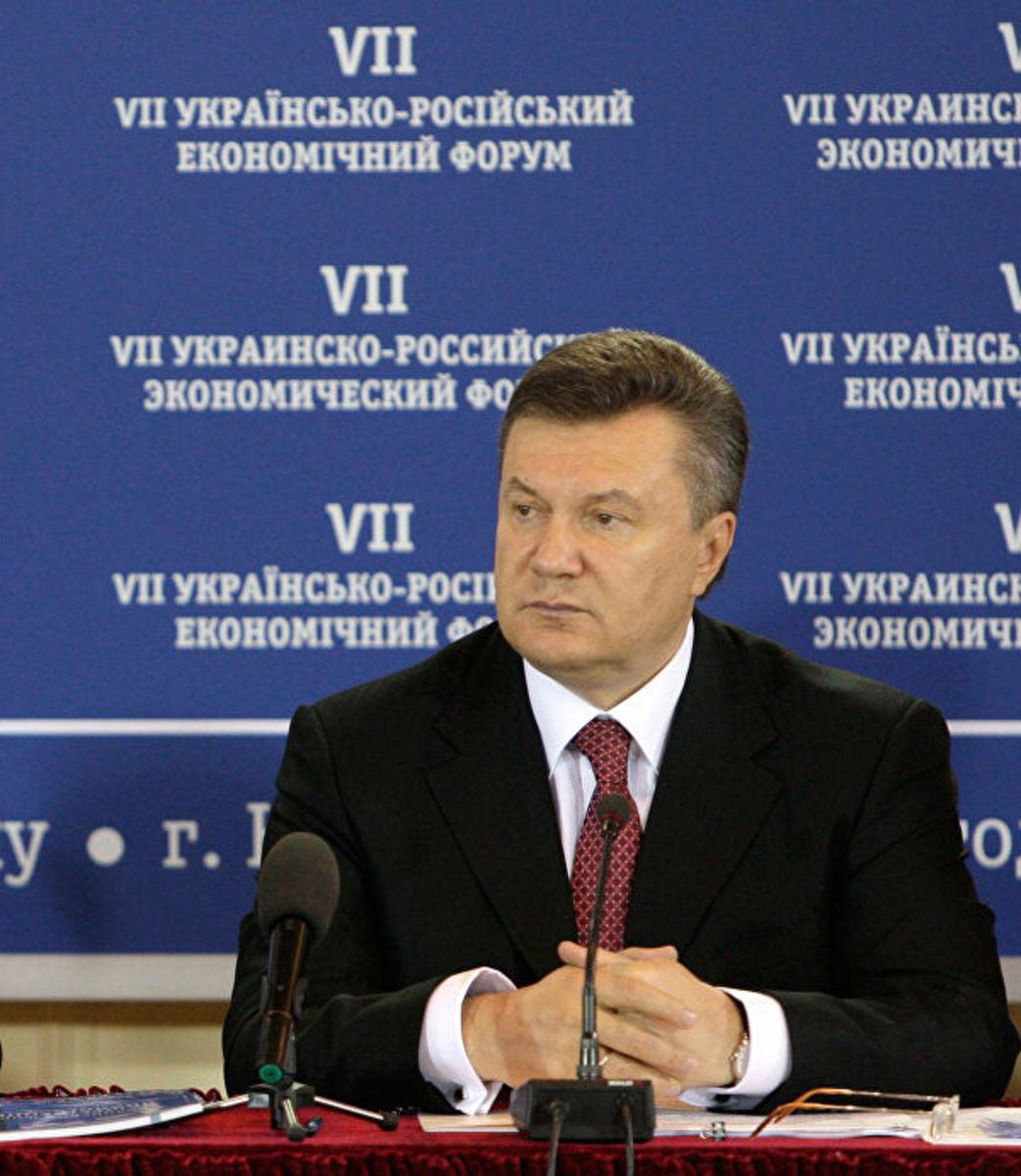 The President of Ukraine in 2014