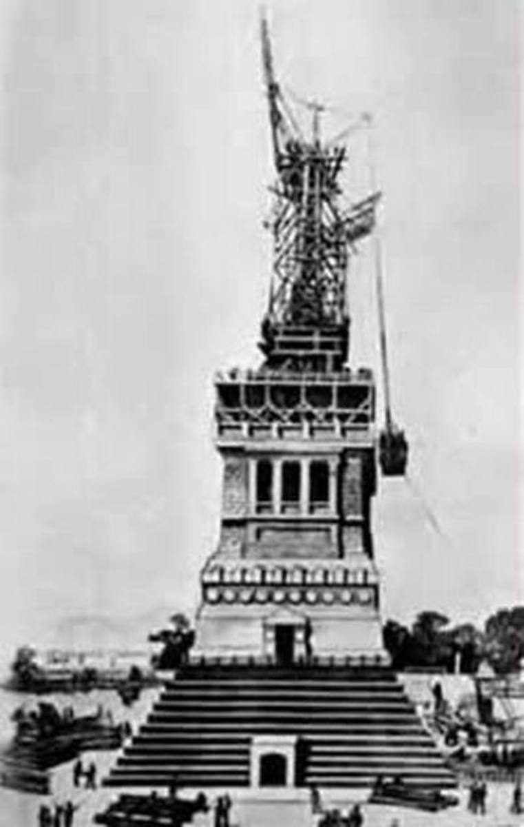 The Statue of Liberty - on the Screen