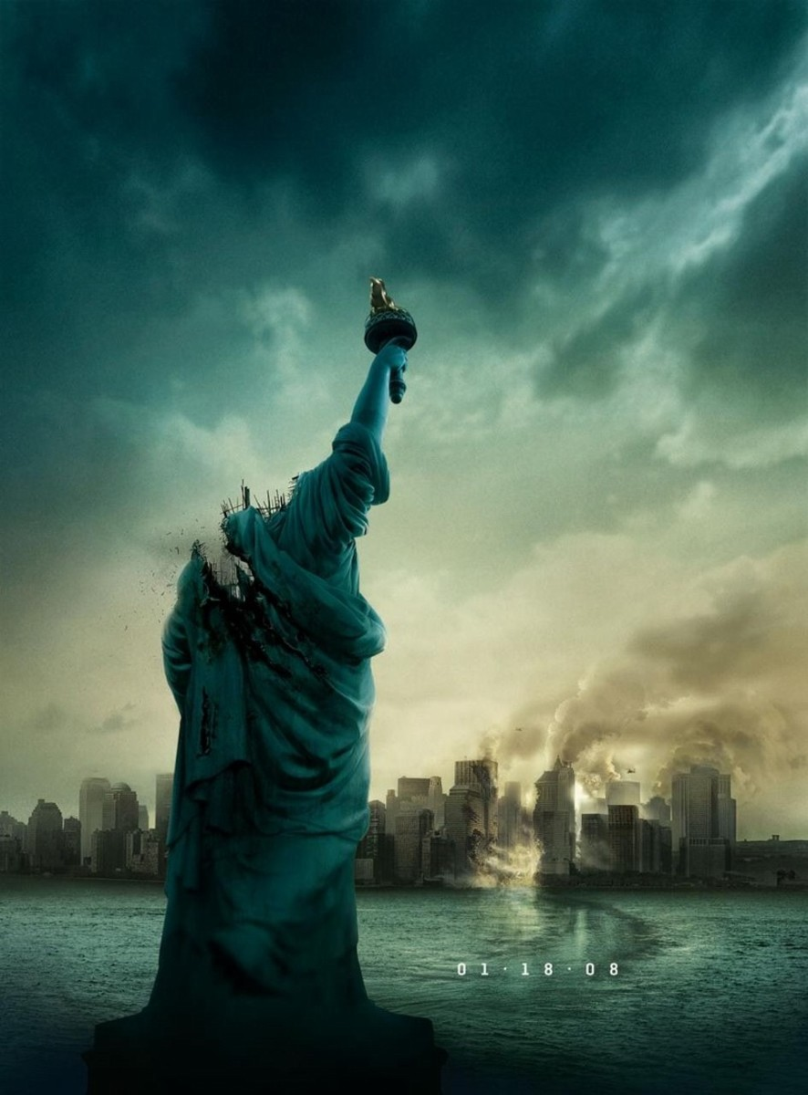 Cloverfield movie poster.