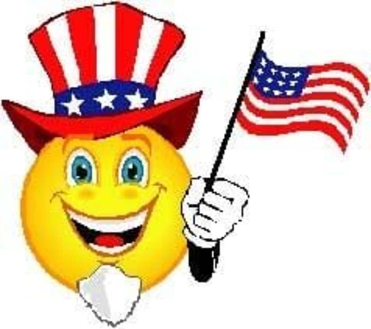 American Flags Clipart and Graphics