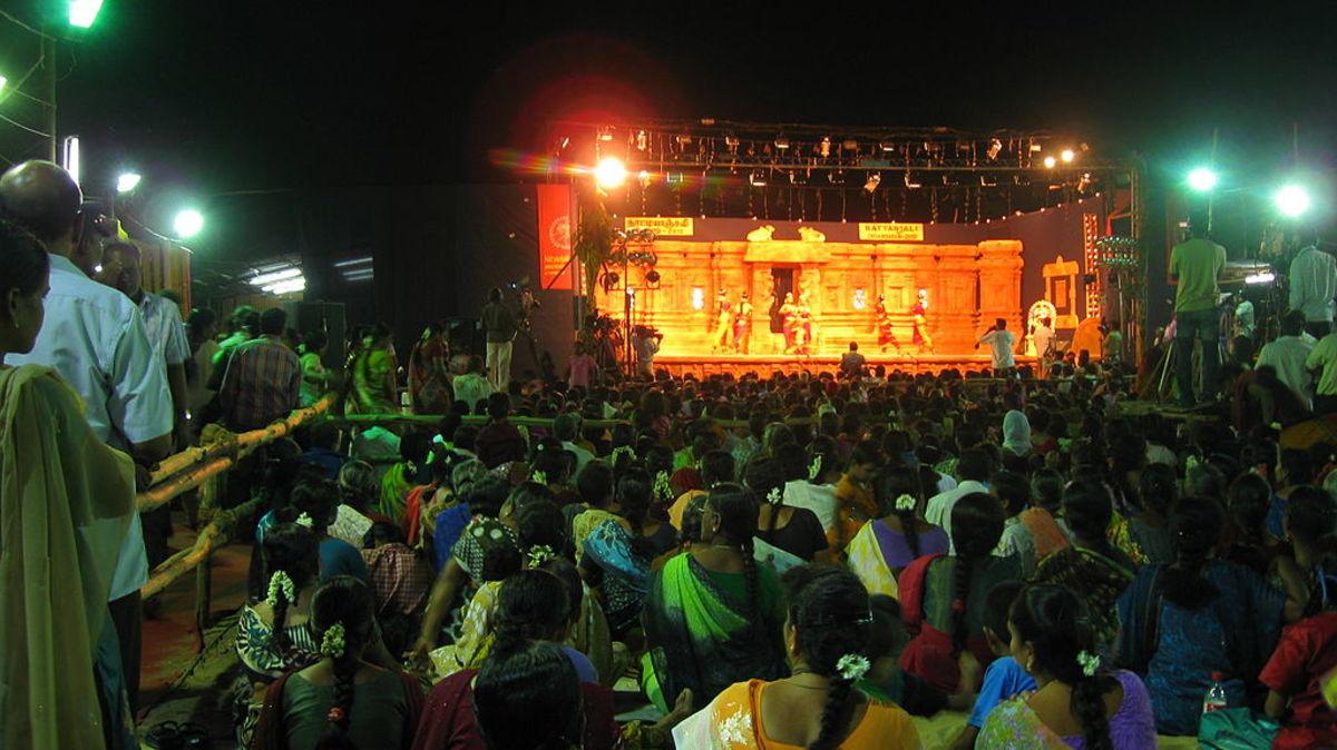 Celebration part of the festival