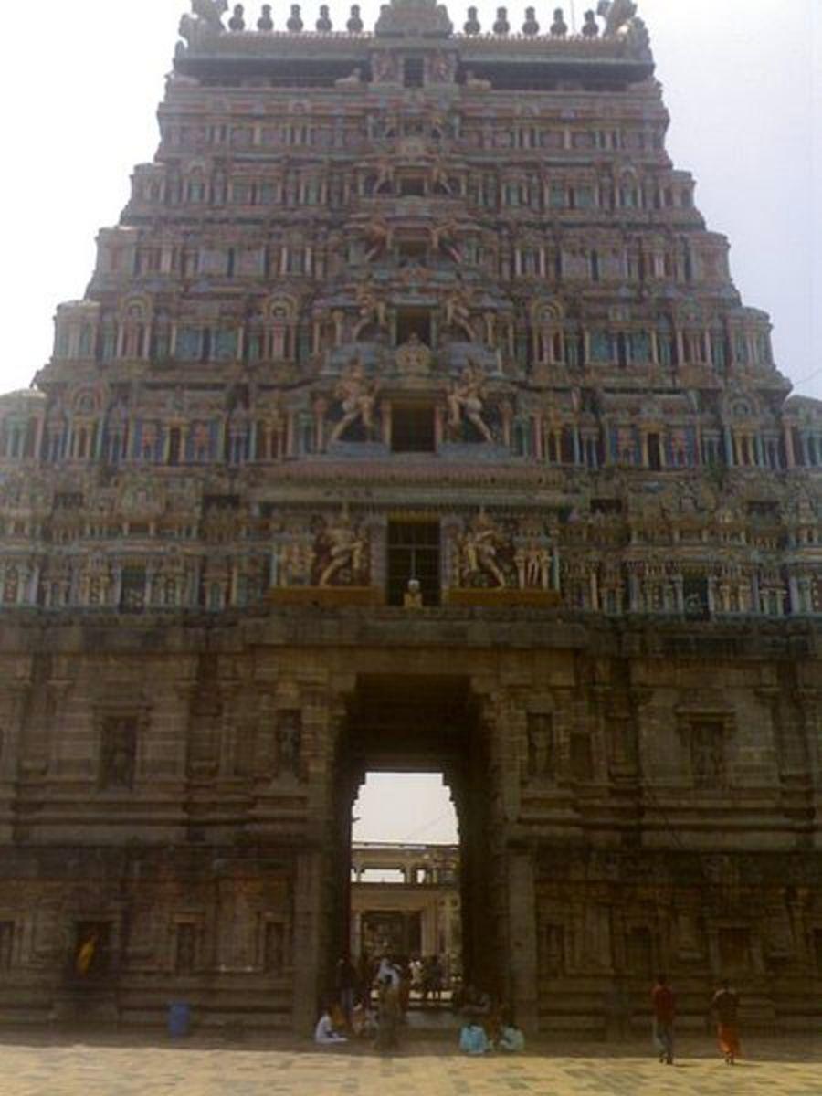 Nataraja Temple Chidambaram (East Tower)