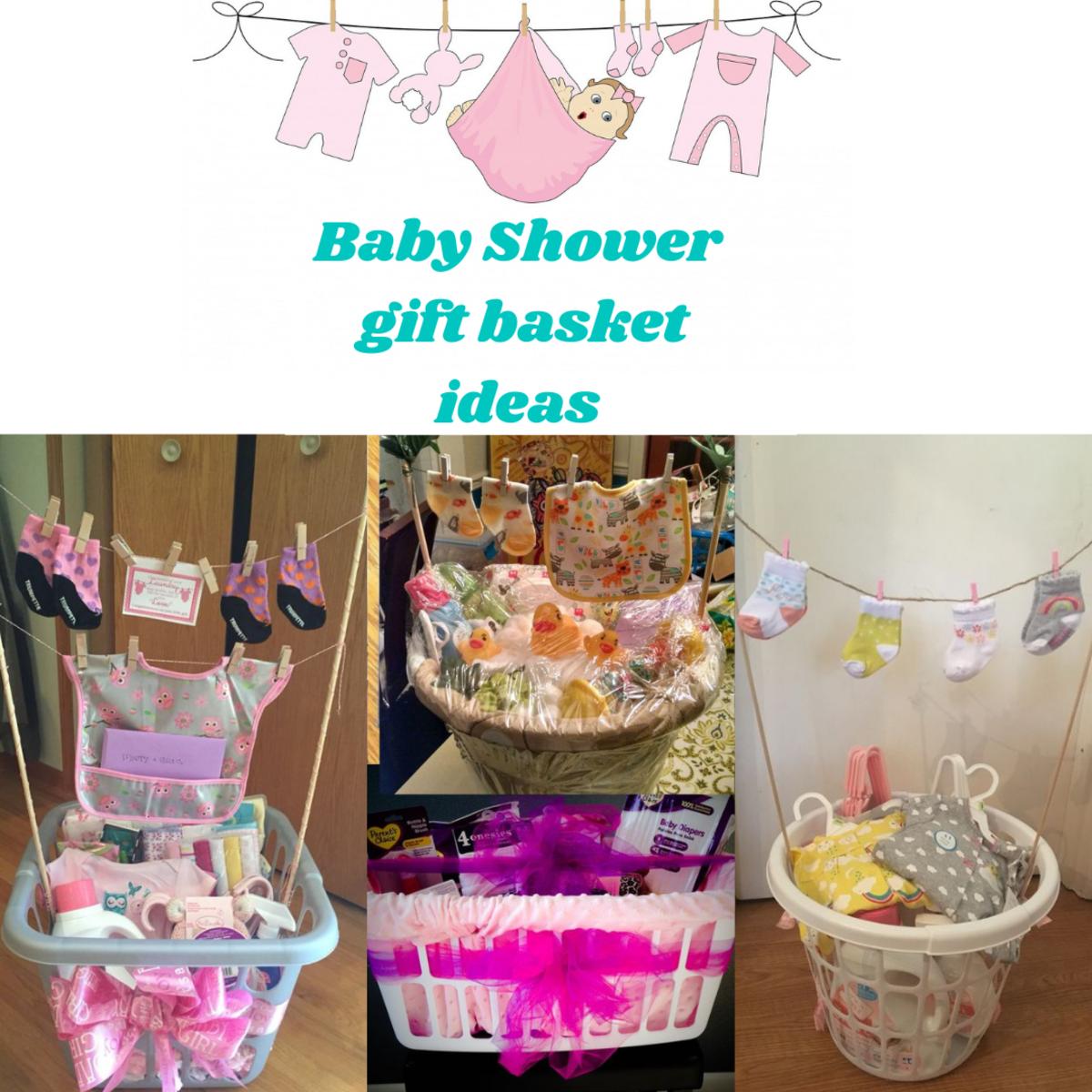 Baby Shower Laundry Basket Gift Ideas