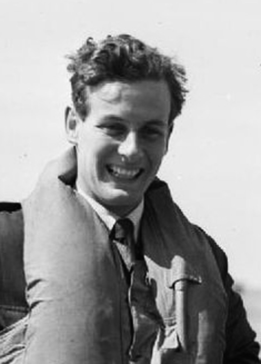 Group Captain Peter Townsend (1914-1995) was considered unsuitable as a husband for Princess Margaret (1930-2002.)