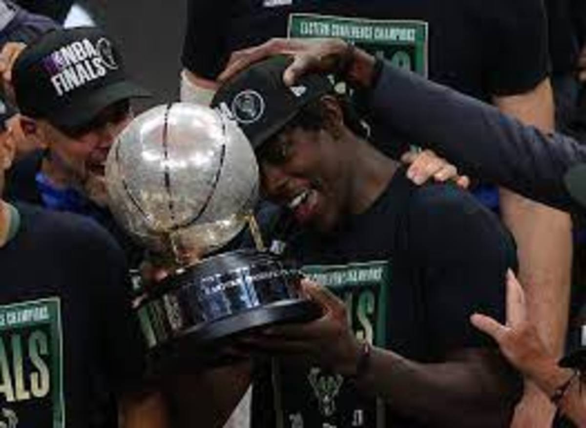 Jrue Holiday came to the Bucks via trade in the off-season and signed an extension with the team earlier in the year.