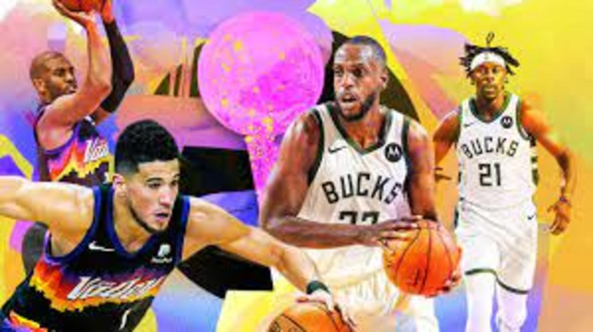 The Suns and Bucks meet in the finals after a wild season.  The Suns won both matchups by one in the regular season.