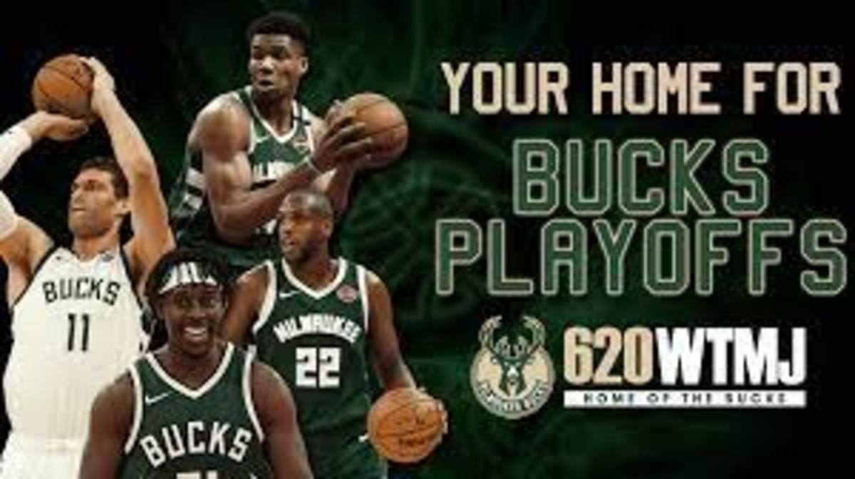 The Bucks went through the Heat, Nets, and Hawks to make it to the NBA Finals.