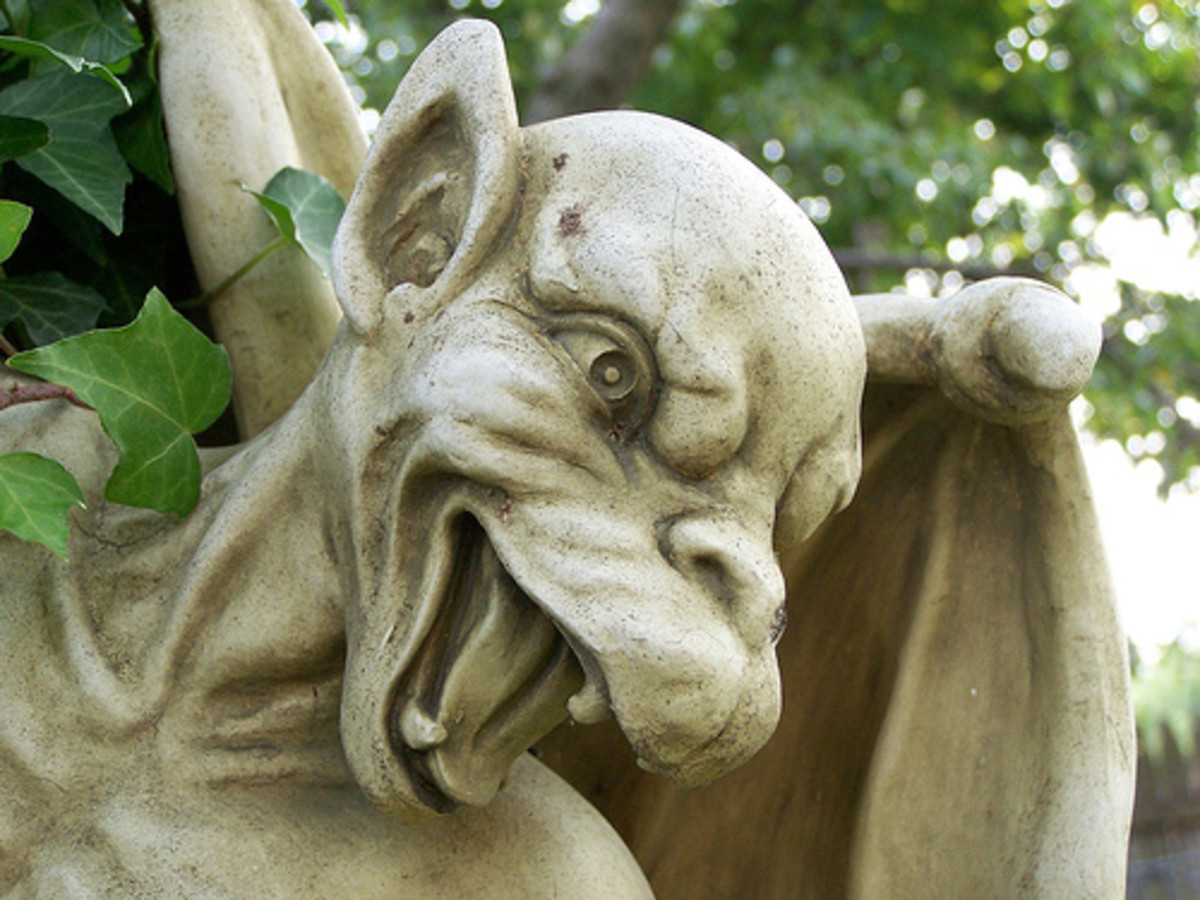Gargoyle Statues Are Back In Vogue