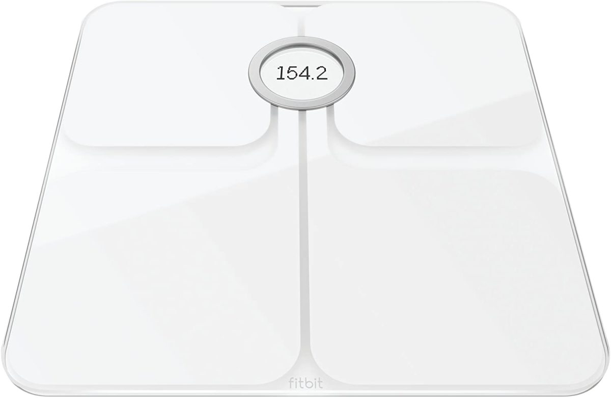 Fitbit's Aria 2 is a set of weighing scales that automatically synchronise with your Fitbit account.