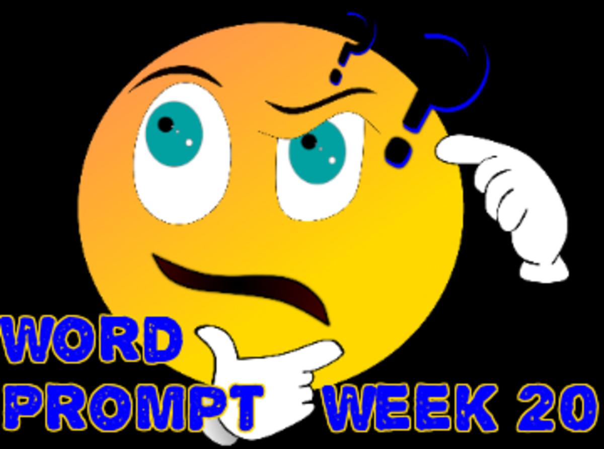 Word Prompts Help Creativity / Week 20