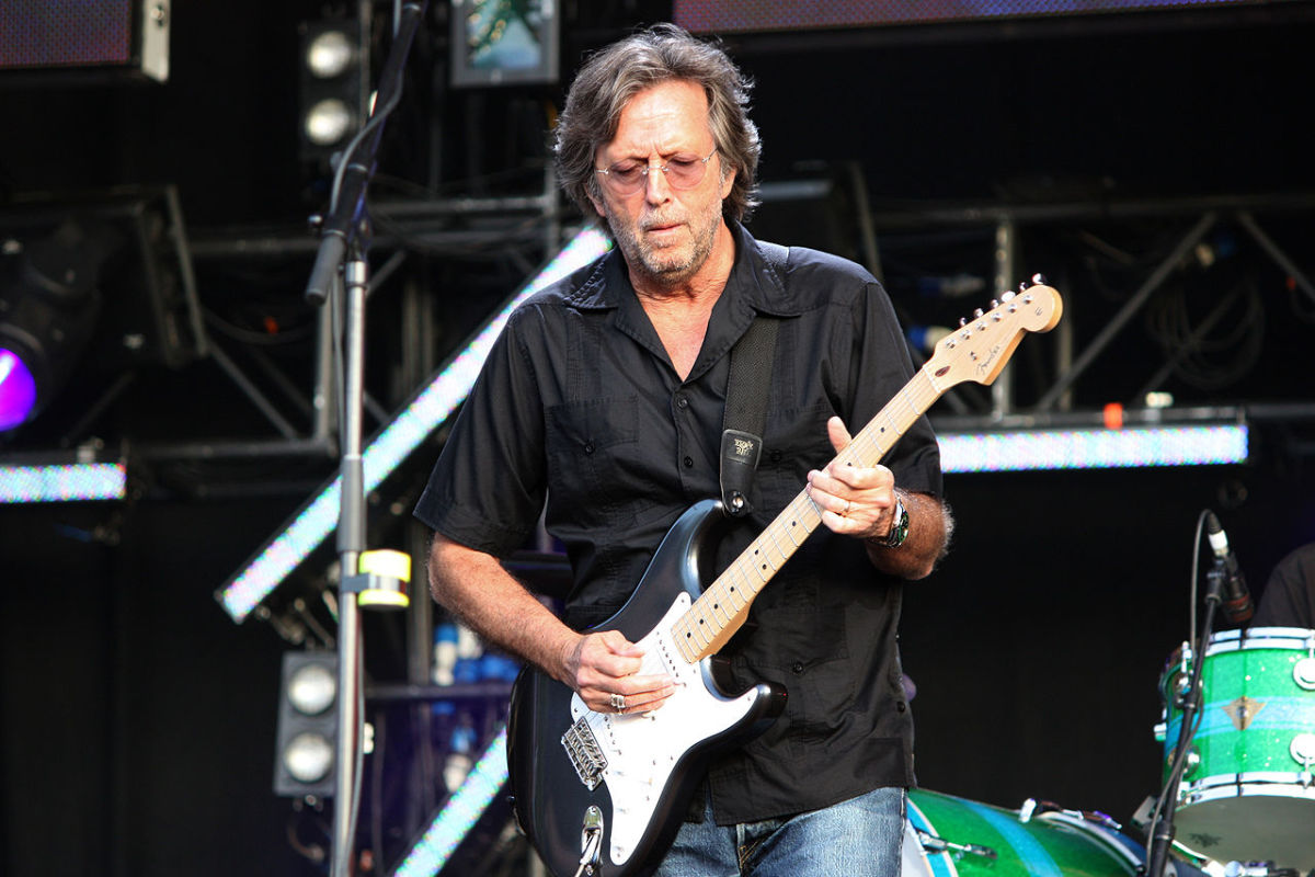 Eric Clapton and the Fender Stratocaster