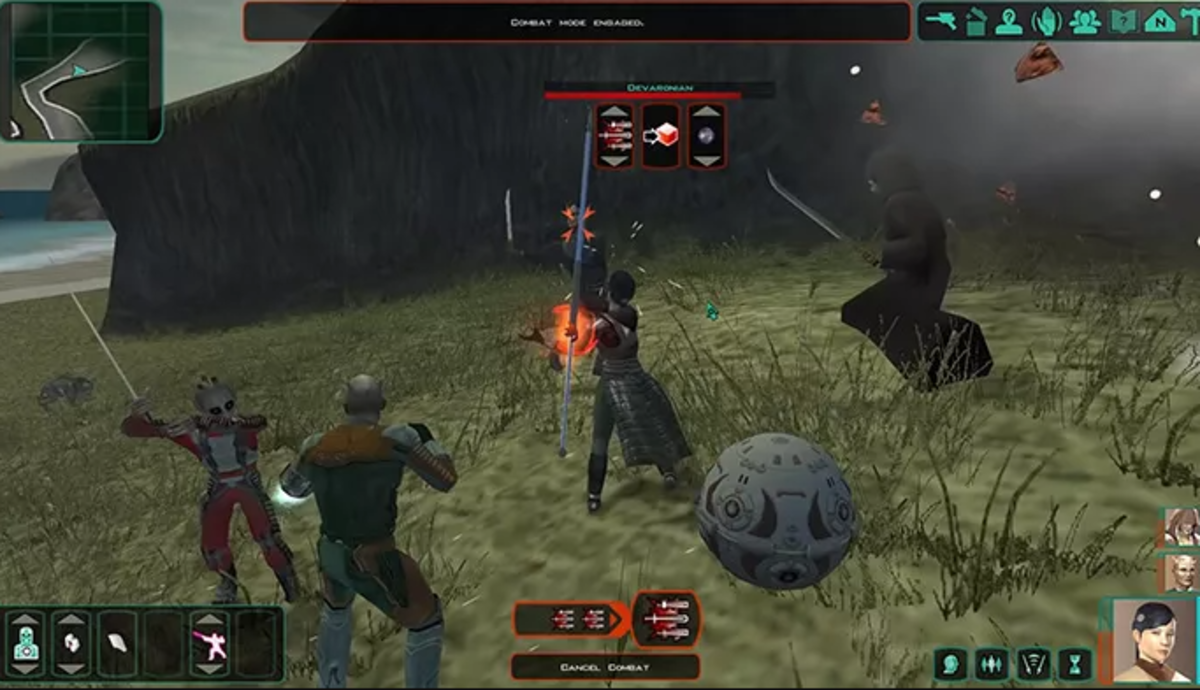 The Sith Lords Restored Content Modification (TSLRCM) adds removed contents to STAR WARS KOTOR II: The Sith Lords