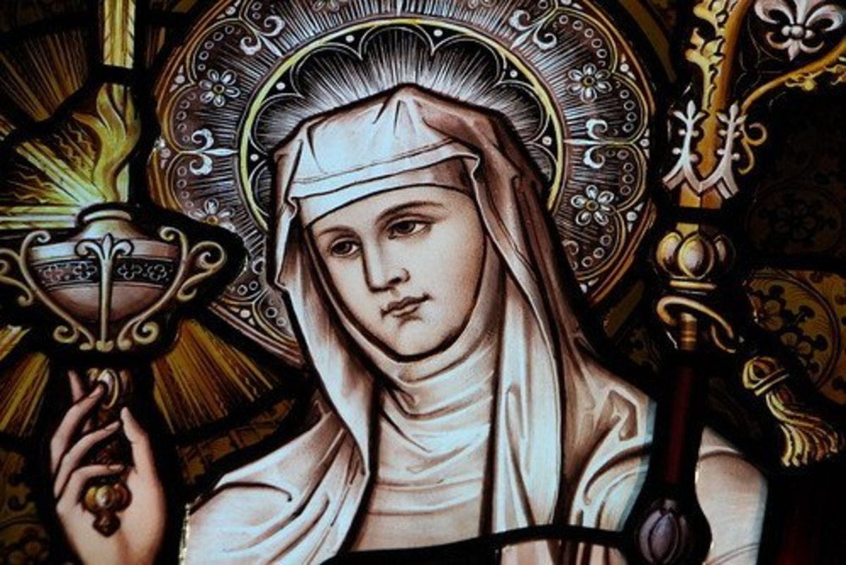 Clare of Siena.