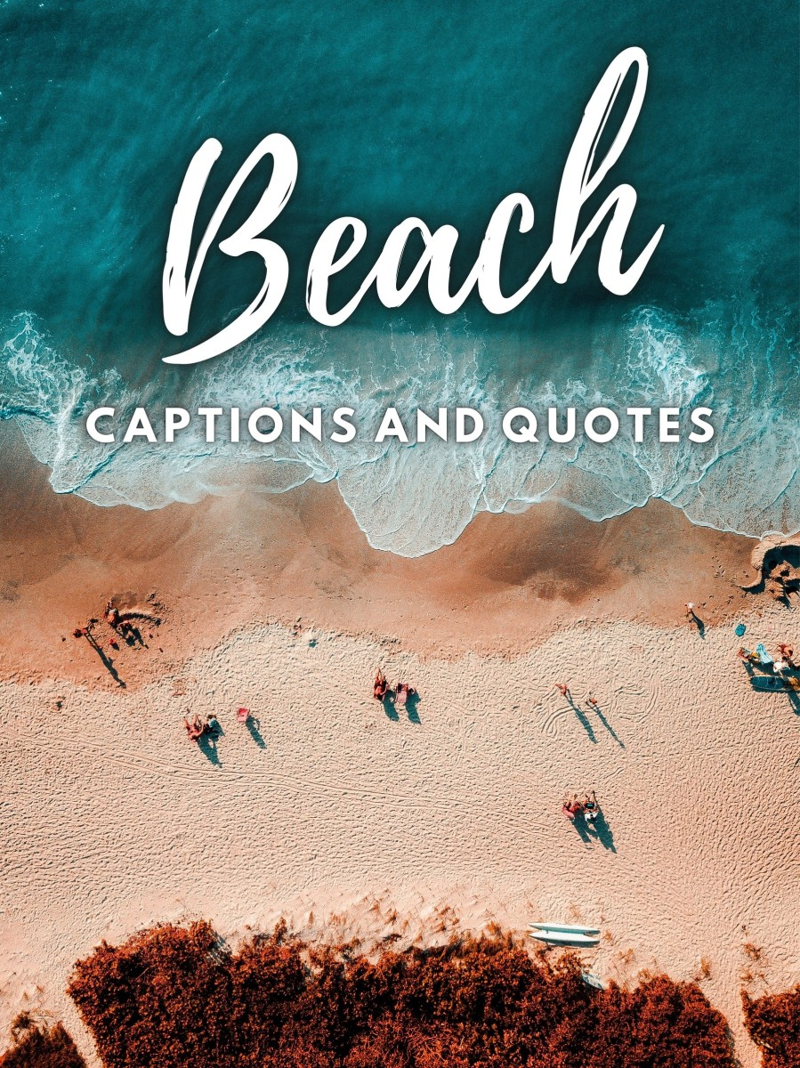 Beach Quotes and Caption Ideas